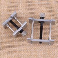 2x Uhr Gehäusehalter Werkhalter Uhrenwerkzeug Reparatur Uhrmacher