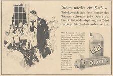 Y4923 Zahnpasta ODOL - Illustrazione - Pubblicità d'epoca - 1927 Old advertising