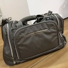 Delsey Carry On Duffel Weekender Overnight Bag Gray Travel Bag Duffle
