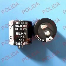 1PCS ELNA AUDIO Electrolytic Capacitor (SIZE) 30*31mm 10000UF35V / 35V10000UF