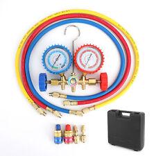 R410a R22 Manifold Gauge Set Ac Ac 5ft Color Hose Air Conditioner Hvac 60 Ee