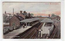 More details for lockerbie railway station: dumfriesshire postcard (c25568)