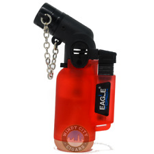 Eagle Red Jet Torch Flame Windproof Butane Refillable Lighter