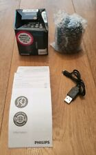 PHILIPS BT25B PORTABLE WIRELESS BLUETOOTH SPEAKER MUSIC ANDROID IPHONE BOXED