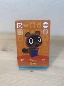 Carte Amiibo Animal Crossing - 008 - MÉLI / TIMMY [EUR] Série 1