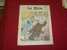 1914 JULY 11 LE RIRE MAGAZINE - ISSUE# 597 -PYJAMA POUR DAMES - FRENCH - FR 1653