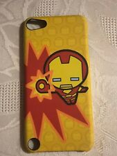 Marvel Kawaii Art Collection IRON MAN FLEXIBLE HARD Case For iPod touch 5th Gen
