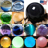 US Natural Quartz Magic Gemstone Sphere Crystal Reiki Healing Ball Stone Lot