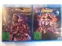 Avengers - Teil: 3 - Infinity War + Teil: 4 - Endgame [Blu-ray/NEU/OVP] Marvel