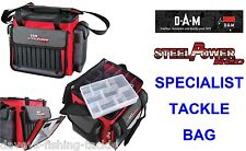 DAM STEELPOWER RED SPECIALIST TACKLE BAG FOR SEA BOAT ROD FISHING LURES PIRKS