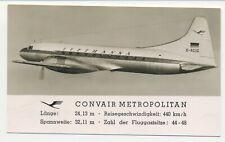 G.D. Convair 340 aviation/aircraft/airplane/aeroplane/airline