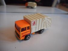 Matchbox Refuse Truck in Orange/White