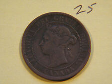 #4,1900 H Canada, Canadian Large Cent Coin , Canadian One Cent