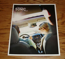 Original 2012 Chevrolet Sonic Sales Brochure 12 Chevy LS LT LTZ
