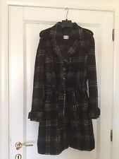 Splendido cappotto (brand Max Mara) con tasche e cintura, taglia 46