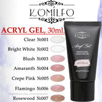 KOMILFO Acryl Acrylic Gel 30g LED UV Nail Art Nail Polish ORIGINAL