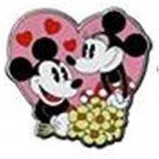 MICKEY+MINNIE AS BELLE+BEAST DANCING Disney COUPLES Pin