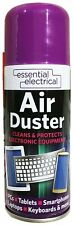 1x Compressed Air Duster Spray Can Cleans Protects Laptops Keyboards 200ml