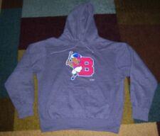 AUTHENTIC Rare Style BUFFALO BISONS Fleece HOODY L Toronto Blue Jays jersey