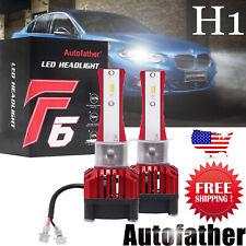 2x H1 Led Headlight Bulbs Conversion Kit High Or Low Beam 6000K Lamp White New
