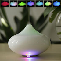 White LED Color Ultrasonic Air Humidifier Oil Aroma Diffuser Purifier Steam Mist