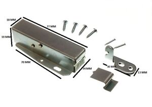 Touch Latch Hatch Push + Fixing Fixings And Instructions Pack Of 20