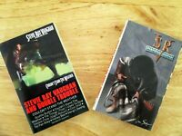 STEVIE RAY VAUGHN, 2 Cassettes (In Step + Couldn't Stand The Weather) Very Good!