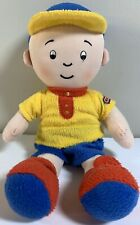 """Caillou 11"""" Plush Doll Cookie Jar Stuffed Toy PBS Kids Little Boy Lovey"""