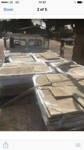 Reclaimed Sandstone  Flagstones