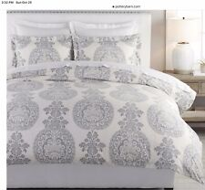Pottery Barn Luciano Medallion Duvet Cover And Euro Shams