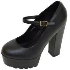 Zapatos de tacón de mujer negro Dolcis de sintético