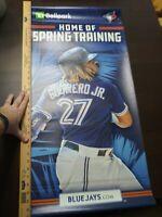 Very Rare Vlad Guerrero Jr Toronto Blue Jays Spring Training Stadium Banner Sign