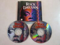 ROCK DREAMS 1993 TIMELIFE MUSIC OF THE 70's & 80's 36 TRACK 2CD OPCD-4542 OOP