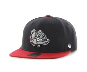 Gonzaga Bulldogs NCAA '47 Brand Navy red 2 Tone Snapback Hat New university