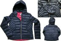 NEW IN! NEXT Ladies NAVY Packaway Padded Puffa Duck Down Coat Jacket £50 6 - 22