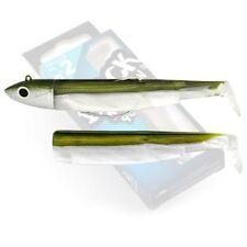 Artificial negro Minnow Fiiish 90mm 10g 4 talla N2 Combo off Shore caqui