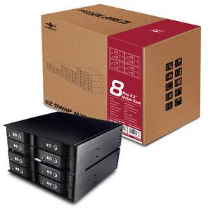 """Vantec EZ Swap M2500 Series 2.5"""" Hard Drive Mobile Rack (8 Bay)"""