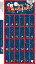 Christmas Advent Calendar Panel by Northcott Fabrics