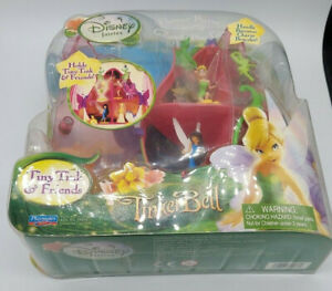 Playmates Toys Disney Fairies Tiny Tink & Friends Flower Purse Collect & Play Ca