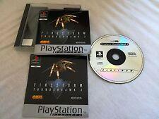 Firestorm thunderhawk 2 pour PS1! Très bon état!