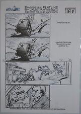Dr Who Original Hand-Drawn Storyboard Episode 8.9 Scene 36 Page 8 Capaldi Tardis