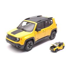 modello di auto 1:24//Welly JEEP RENEGADE Trailhawk 2017 arancione