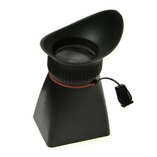 Kinotehnik LCDVF 4/3 V2 LCD Screen Magnifier for Canon 5D Mark II 7D Sony