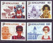 Singapore 1990 SC 580-583 MNH Set Tourism