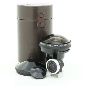 Nikon Fish-Eye-Nikkor 7.5mm F/5.6 Non-AI Lens with Finder