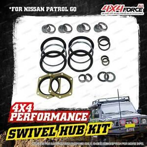 Swivel Hub King Pin Bearing Seal Kit for Nissan Patrol GQ Y60 2.8L 3.0L 4.2L