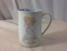 Vtg 1990 Precious Moments Friend Samuel J Butcher Ceramic/Porcelain Coffee Mug