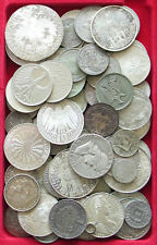 COLLECTION LOT WORLD SILVER LOT (ONLY SILVER) 67PC 680G  #xxz 086