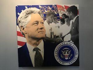 Bill Clinton By Steve Kaufman