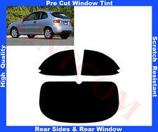 Pre Cut Window Tint Daewoo Lanos 3D 1997-2003 Rear Window & Rear Sides Any Shade